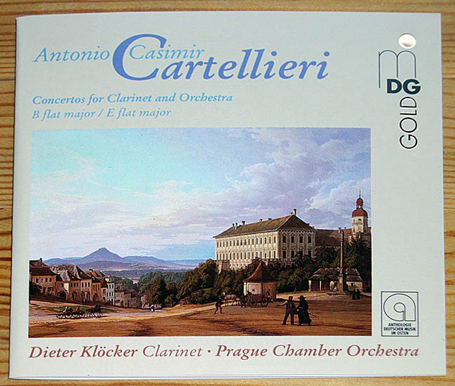Cartellieri: Concertos for Clarinet and Orchestra - B flat major / E flat major